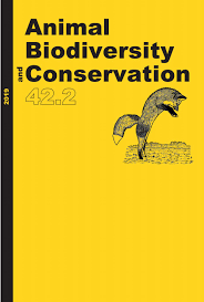 Animal Biodiversity And Conservation Vol 42 2 2019 By