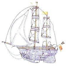 crystal ship chandelier for crystal ship chandelier z tole crystal ship chandelier crystal pirate ship