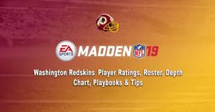 Washington Rb Depth Chart Madden 19 Washington Redskins Player Ratings Roster Depth