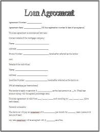Free Loan Agreement Awesome Printable Sample Personal Loan Agreement Form Basic Template For
