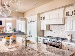 mcgranite countertops warmer kitchen granite countertop and patterned backsplash