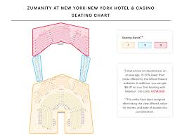 Zumanity Theater Seating Chart Zumanity Seating Chart Watch Zumanity At New York Hotel