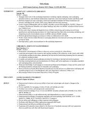 Library Assistant Job Description Resume Librarian Assistant Resume Samples Velvet Jobs 64
