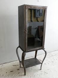Antique Metal Dental Cabinet Stunning Vintage Industrial Steel Dentist Cabinetlk For Sale