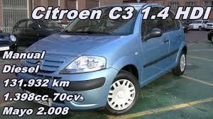 Citroen C3 1.4 HDI Audace 08 Manual Diesel 70cv 131.932km ...