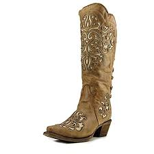 com corral western boots womens leather fashion snip toe brown a3043 mid calf