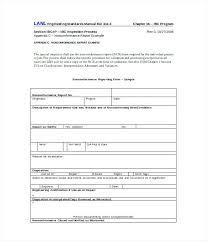 Corrective Non Compliance Report Template Construction Employee ...