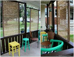 10 diy patio privacy screen projects free plan s bamboo privacy screen