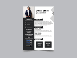 Resume Modern Format Free Modern Formal Resume Template With Clean Design