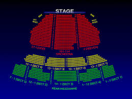 Studious Seating Chart For Broadway Theatre New York