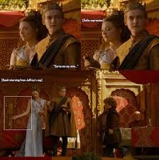 """Game of Thrones season 4 episode 2 """"The Lion and The Rose"""" gifs ... via Relatably.com"""