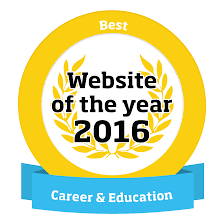 website of the year  logo best website
