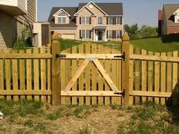 wood picket fence gate. Wood Fence Gate Picket
