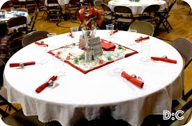 Party Table Decor Table Decoration Contemporary Christmas Party Dining Table