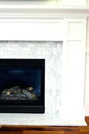craftsman fireplace tile trailing