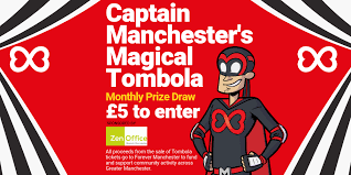 Prize Draw Tickets Tombola Forever Manchester
