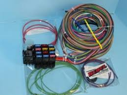 rebel wire wire kits for real rods rebel wire16 circuit diesel wiring harness