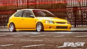 honda civic hatchback modified. turbo honda civic ek jordan hatchback modified