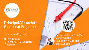 Graphic Design Jobs London England Principal Associate Electrical Engineer Job London Energi