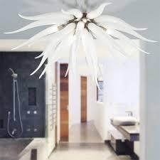 Lighting In Interior Design Unique La Murrina Ceiling Lamp Medusa R48 White Luxury Murano Glass