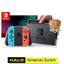 Máy chơi game Nintendo Switch With Neon Blue Red Joy-Con giá rẻ 7.880.000₫