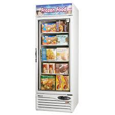 noteworthy freezer glass door turbo air tgf f white glass door merchandising freezer