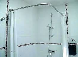 curved shower rod full size of shower curtain rod holders target home depot l curved shower rod double curtain