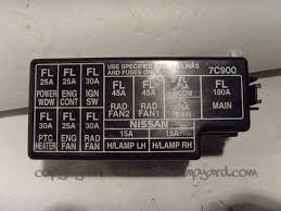 1996 nissan altima fuse box 1996 wiring diagrams