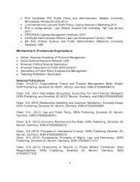 Resume Resume Examples Public Administration public administration resume  dalarcon com 2013 prof