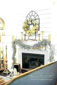 wall decor over fireplace ideas mantel cute above around