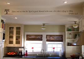 Roman Blinds In Kitchen Decorating Dear Lillie Kitchen With Roman Blinds And Kitchen Sink