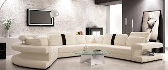 modern leather sectional sofas. Outstanding Modern White Leather Sectional Sofa Vg123 Sectionals Within Sofas I