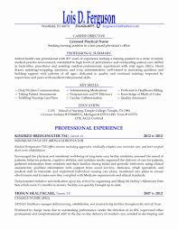 Sample Lpn Resume Elegant Cover Letter Lvn For A New Grad Resumes