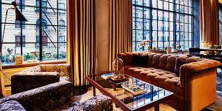 Living Room Bar Nyc Soho Bars Restaurants Nyc Sixty Soho Hotel New York