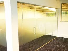 aerzen rotherham fire rated glass partitioning and non fire glass corner room