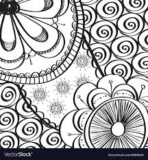 Draw A Design Black And White Draw Design Abstract