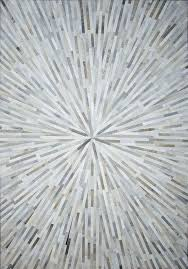 quick view grey spark cowhide patchwork rug