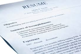 How To Write A Summary For Resume Profile In Experience