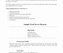 waitressing cv server resume no experience server resume no experience for waitress