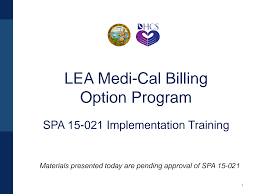 SPA 15-021 Implementation Training 5-9-19