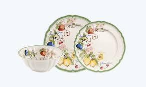 French Garden Arles by Villeroy & Boch is perfect for mix-and-match designs