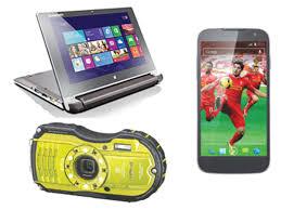 Ricoh WG-4 and Xolo Q2500 PocketPad ...