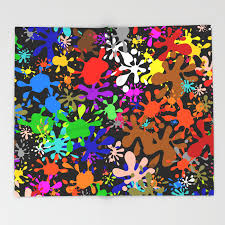 Colourful Throw Blankets