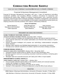 Consulting Resume Awesome Consulting Cover Letter Sample Writing Tips Resume Companion