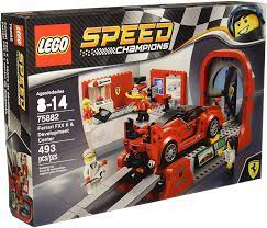Lego Speed Champions Ferrari Development Centre 75882 Amazon De Spielzeug