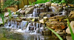 hillsborough nj somerset county 08844 koi pond water garden waterfall install