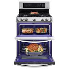Ft Self Clean Convection Double Oven Gas Range