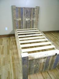 how to build a twin bed frame twin headboard elegant adorable wooden pallet bed frame twin