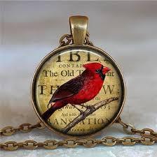 details about redbird necklace redbird pendant cardinal jewelry cardinals pendant