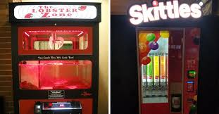 Skittles Vending Machine Mesmerizing 48 Vending Machines From Around The World That You Won't Believe